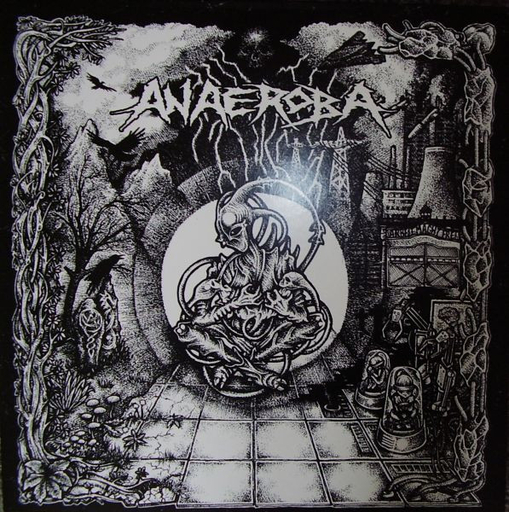 Anaeroba, Over the Walls and Borders - LP