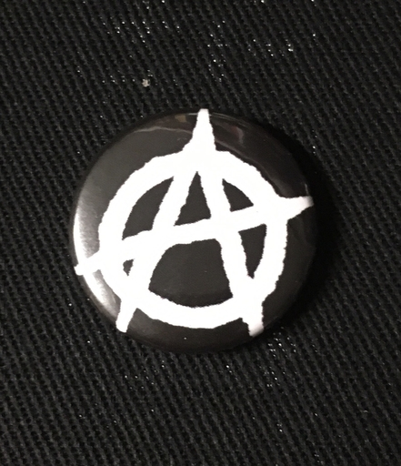 "Anarchy (A) - 1"" pin"