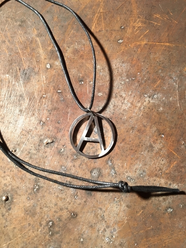 Anarchy A small - necklace