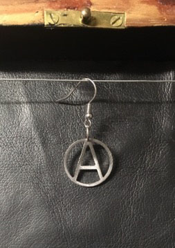 Anarchy, small - earring