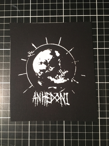 Anhedoni, crushed skull - patch