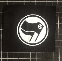 Antifascist (A) - patch