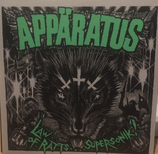 "Appäratus / Svart Ut Split"" LP limited edition"