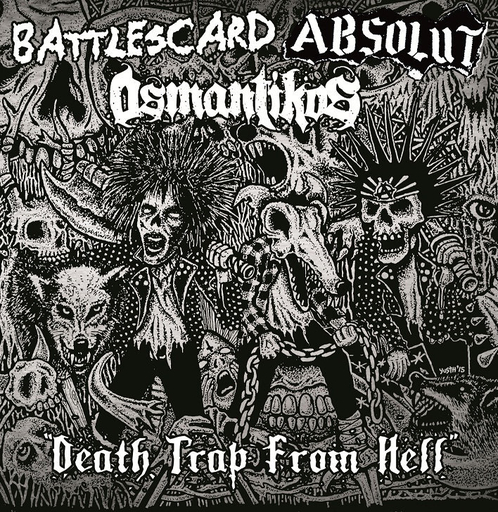 Battlescard / Absolut / Osmantikos, Death Trap From Hell - CD