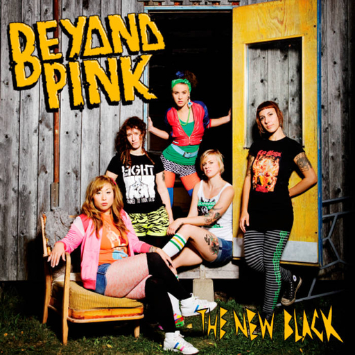 Beyond Pink, the new black -LP