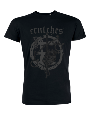 Crutches, Equality Sword - t-shirt