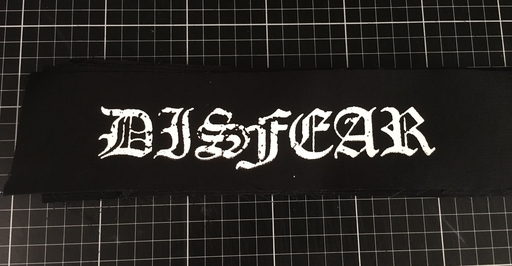 Disfear, big logo - patch