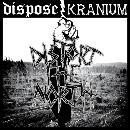 Dispose / Kranium - split LP