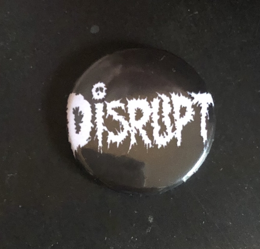 "Disrupt, logo - 1"" pin"