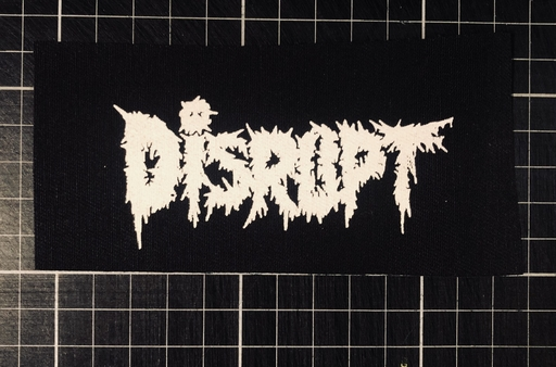 Disrupt, logo - patch