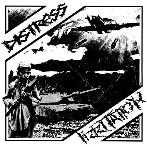 Distress / Irritation, split 7""