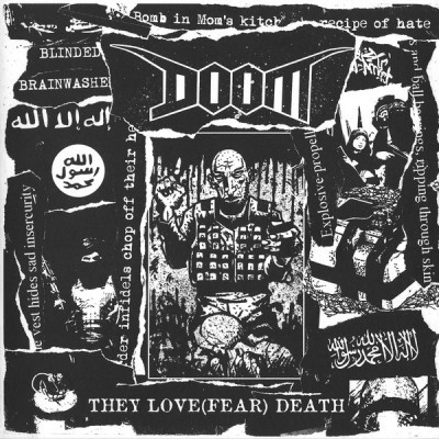 Doom / Electro Zombies, split 7""