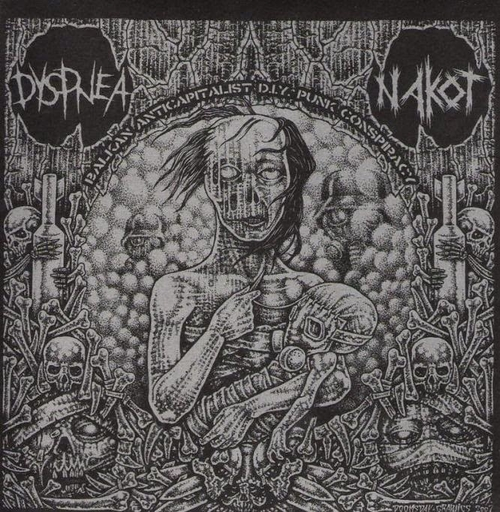 Dyspena / Nakot, split 7""