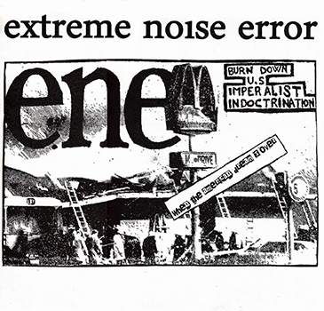 Extreme Noise Error, when the american dream is over - LP