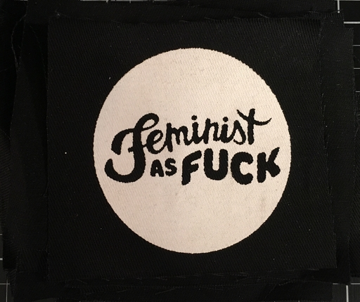 Feminist as Fuck - patch