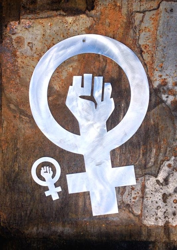 Feminist sign - wall hanger