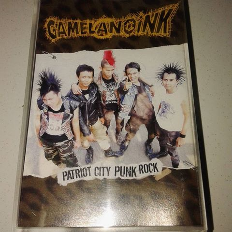 Gamelanoink, Patriot city punk rock - Tape