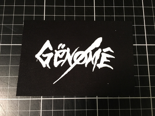 Genöme, logo - patch