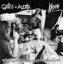 Gritos de Alerta / Krush, split 7""