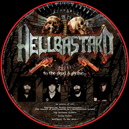 Hellbastard / Herida Profunda, picturedisc - split LP