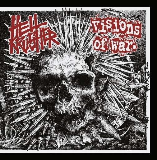 Hellkrusher / Visions Of War, split 7""