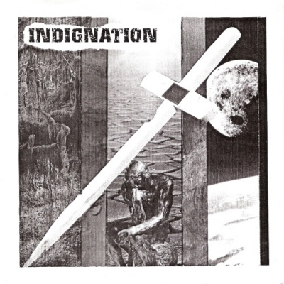 Indignation / Urban trash, split 7""