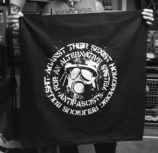 KASAM , Antifascists, for an alternative system - Banner
