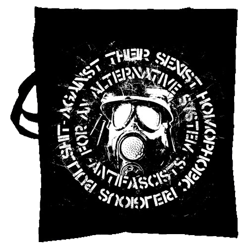 KASAM , Antifascists, for an alternative system - Tote bag