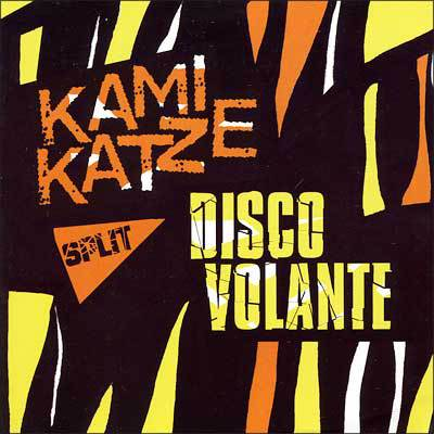 Kamikaze / Disco Volante, split CD