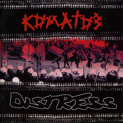 Komatos / Distress, split CD