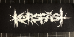 Korsfäst, logo - patch