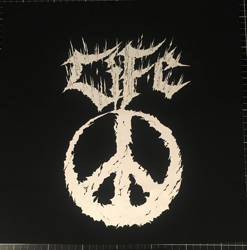 Life, Peace - backpatch
