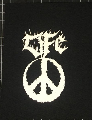 Life, Peace - patch