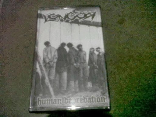 Longor, human depredation - Tape