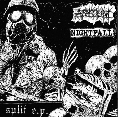 Nightfall / Asylum - Split 7""