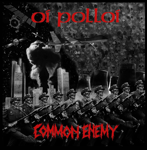 Oi Polloi / Common Enemy, split 7""