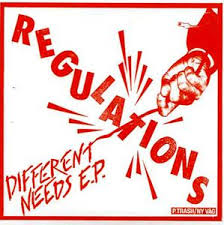 Regulations, Different needs E.P. -7""