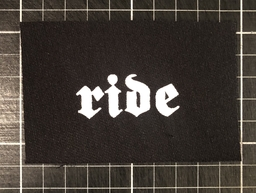 Ride - patch