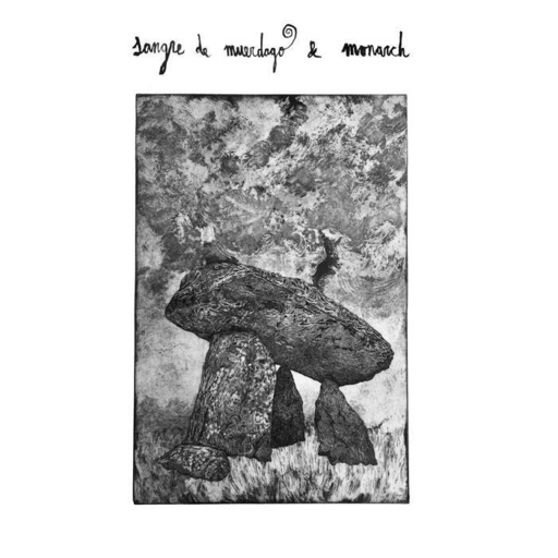 Sangre de Muerdago / Monarch, split LP