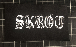 Skrot, logo - patch