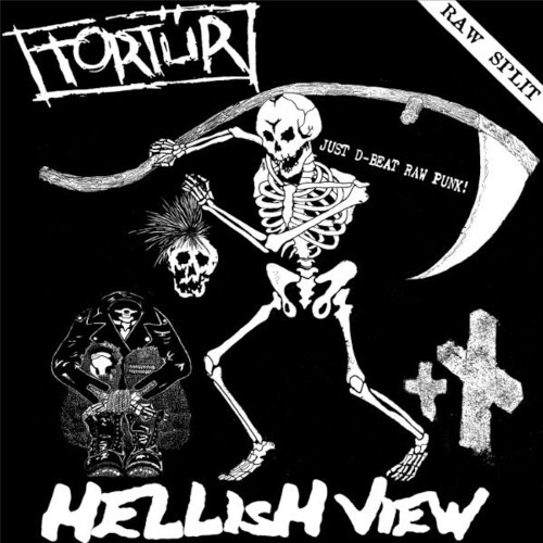 Tortur / Hellsing View, split LP