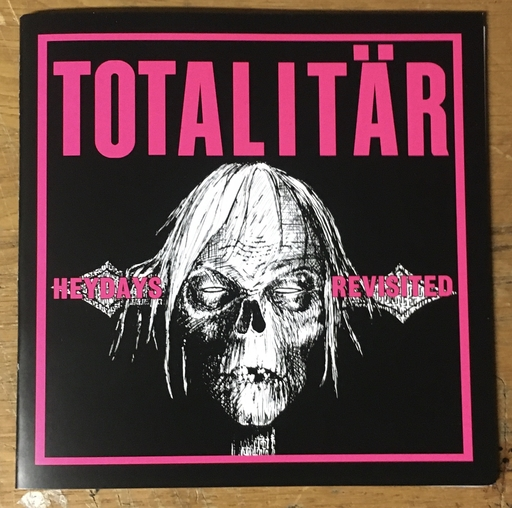 "Totalitär, Heydays Revisited - 7"" black/pink cover"