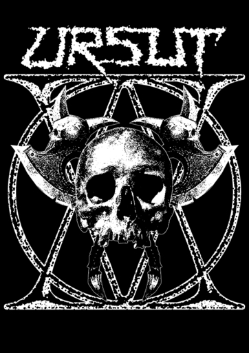 Ursut, Axeskull - back patch