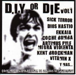 V/A D.I.Y. or die vol.1, comp CD