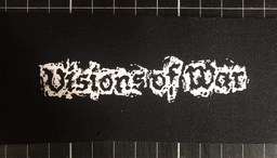 Visions of war, logo - patch