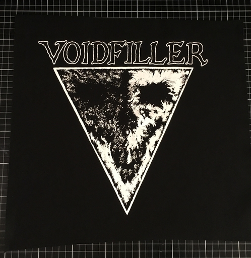 Voidfiller, triangel - back patch