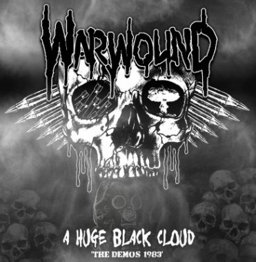 Warwound, A Huge Black Cloud, The demo's 1983… - LP