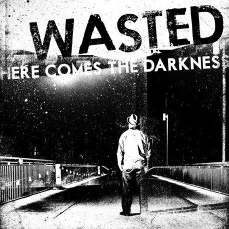 Wasted, Here Comes The Darkness - LP