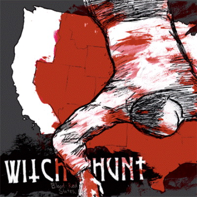 Witch Hunt, Blood red states - CD