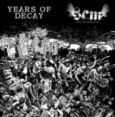 Years of decay / Sand creek massacre, split LP